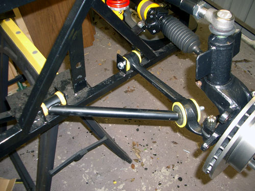 Front suspension lower arm
