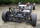 Rolling chassis (rear view)